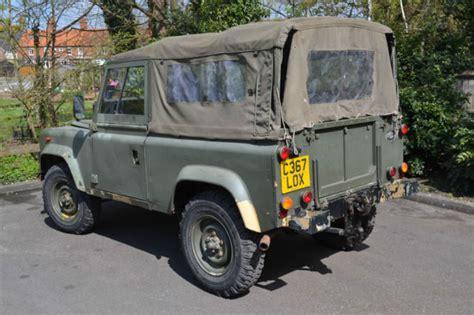 land rover defender 90 soft top for sale land rover defender 90 1986 ex soft top for sale