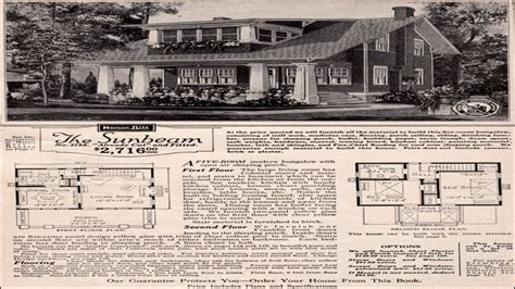 Sears And Roebuck House Plans Sears Roebuck Homes Two Sears And Roebuck House Plans