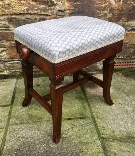 Antique Rosewood Piano Stool by Antique Rosewood Adjustable Piano Stool Marsdens