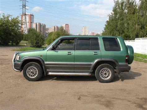 how make cars 1995 isuzu trooper parking system 1999 isuzu trooper pictures