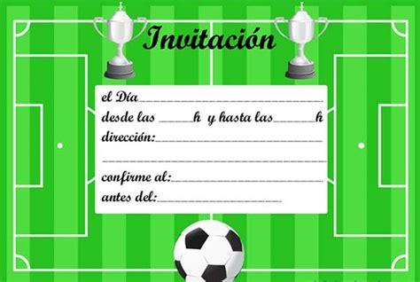 calendario deportivo de tv deportesonline invitaciones de cumplea 241 os de futbol para imprimir gratis