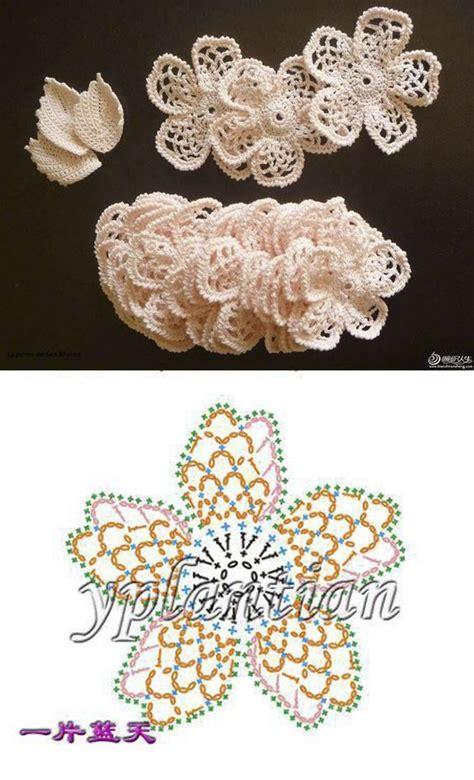 schemi fiori uncinetto italiano belli e delicatissimi fiori all uncinetto con schema il