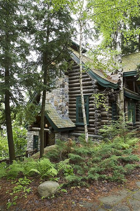 Handcrafted Log Home - 18 best images about adirondack style maple island log