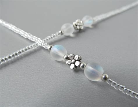clear eyeglass chains transparent reading glasses chain
