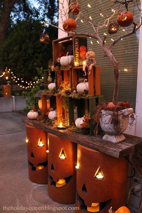 home depot outdoor pumpkin luminaries holidays