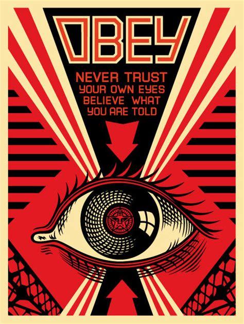 obey eye print