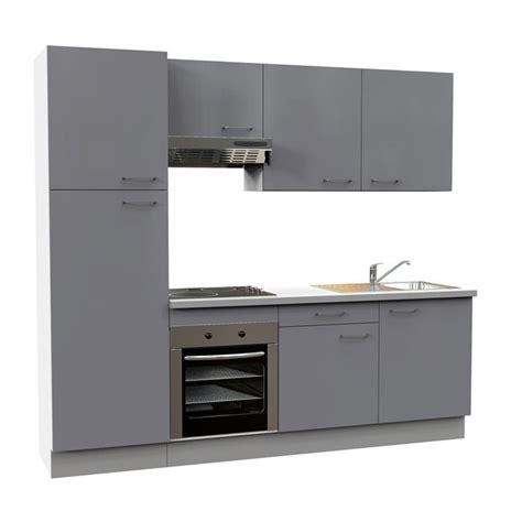 cuisine equipee grise cuisine 233 quip 233 e leroy merlin cuisine 233 quip 233 e gris