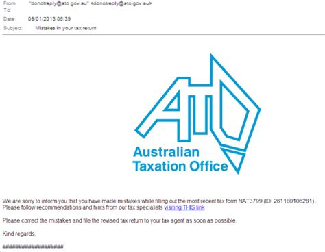 australian taxation office official site news from the ato regarding email and telephone scams