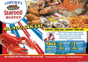 seafood buffet local discount liberty seafood buffet 201 n hwy myrtle sc
