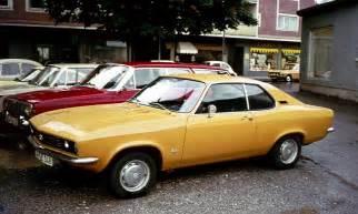1970 Opel Manta 1970 Opel Manta Photos Informations Articles