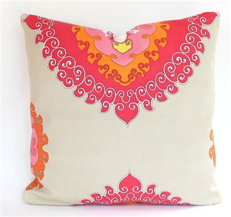 Bargain Of The Week Pink Twirl Pet Pillow by 2 Outdoor Pillow Covers In Orange Pink