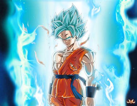 imagenes de goku god blue goku ss god blue neotopia