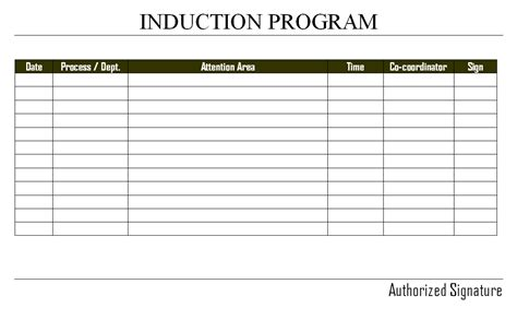 induction procedure template induction procedure template choice image template