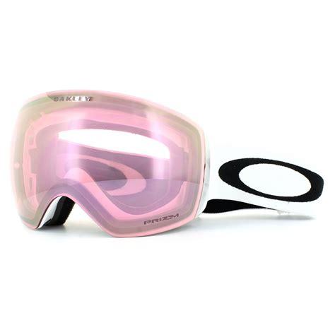 ski goggles oakley ski goggles flight deck oo7050 38 matt white prizm