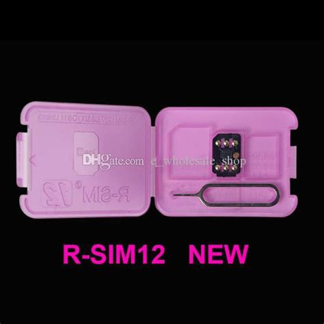 rsim 12 r sim 12 rsim12 iphone unlock card for iphone 8 iphone 7 plus and i6 unlocked ios 11