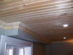 basement pine ceiling diy for the house