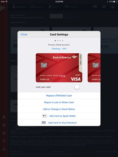 Gift Card Bank Of America - app shopper bank of america mobile banking for ipad finance