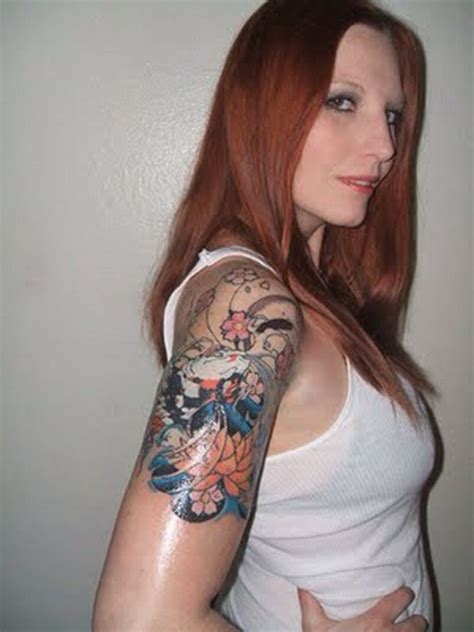 tattoo inspiration female sexy sleeve tattoos for women cool sleeve tattoo for