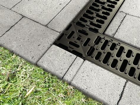 aco markant drainage products for residential applications patio toronto by aco systems