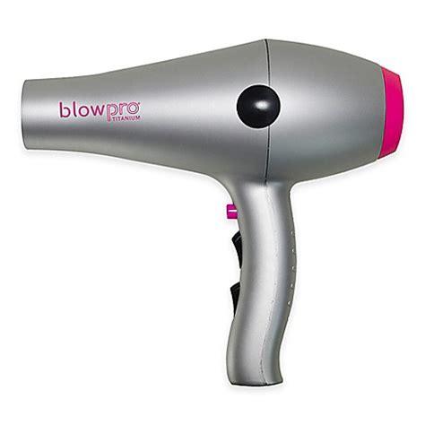 Bed Hair Dryer blowpro titanium professional salon hair dryer bed bath