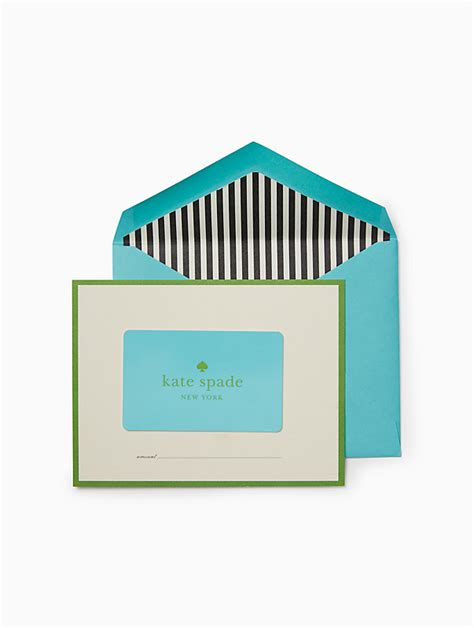 kate spade cards gift card kate spade new york