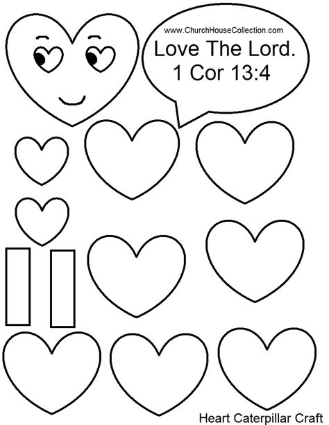 Church House Collection Blog January 2016 Free Printable Craft Templates
