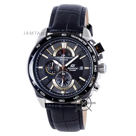 Best Seller Jam Tangan Rolex Kulit Hitam Plat Hitam Hph 1 harga sarap jam tangan edifice efr 520l 1av kulit chronograph