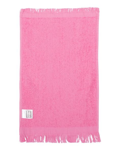 Q Tees T100 Fringed Fingertip Towel Ebay Lowest Price Bath Towels