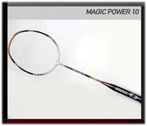 astec racket quot magic power quot series all player