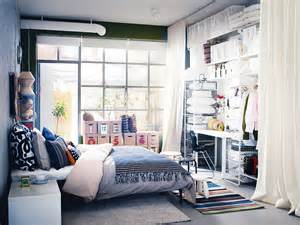 storage ideas for small bedrooms with no closet