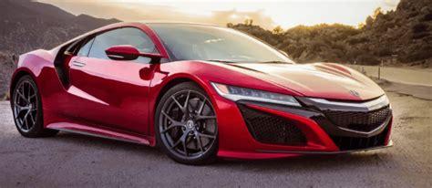 2020 Acura Nsx Price 2020 acura nsx changes specs price acura specs news