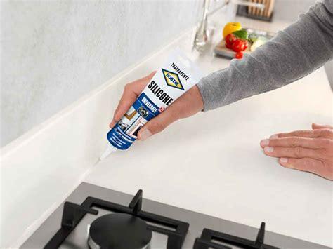 silicone in cucina sigillare top cucina e alzatina