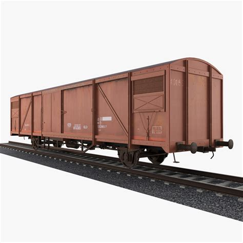 box car boxcar 3d model