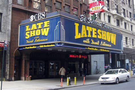nyc ed sullivan theater  ed sullivan theater