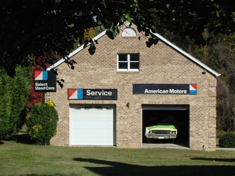 Backyard Garage by File Quot Quot Garage In Backyard With Vintage Amc