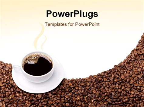 Cafe Templates by Coffee Powerpoint Template Presentation Template Coffee