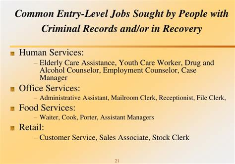 Criminal Record Level 1 Ppt Key Trends For Justice Involved Juveniles And Adults In Recovery