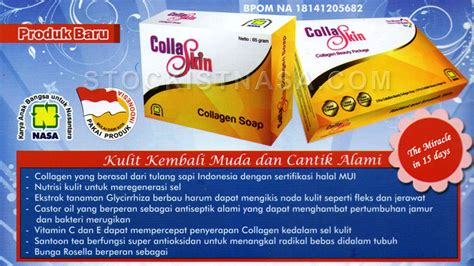 Collaskin Collagen Skin Care By Nasa collaskin kulit muda cantik alami dalam 15 hari