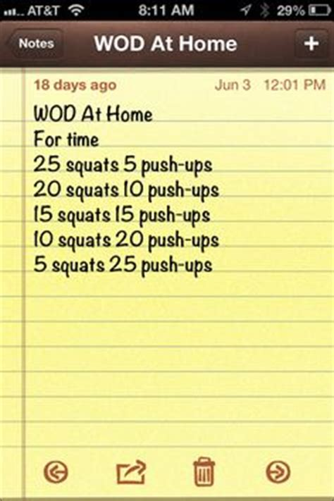 no equipment crossfit wod the of work out i can