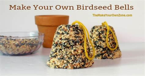 how to make seed bells for parrots how to make your own birdseed bells