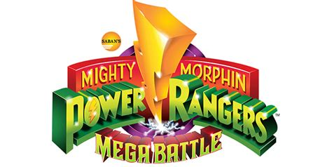 Namco Bandai Logo Black T Shirt mighty morphin power rangers mega battle announced for