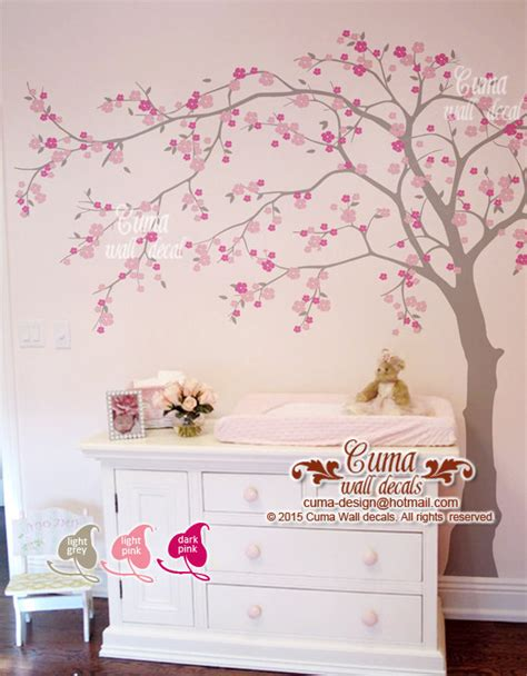 wall stickers cherry blossom tree cherry blossom wall decal wall decals cuma wall decals
