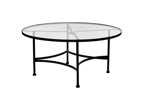 wrought iron glass top dining table ow classico wrought iron 48 clear tempered glass