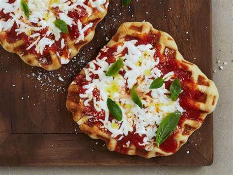 paint nite margherita pizza waffled margherita pizza recipe food network kitchen