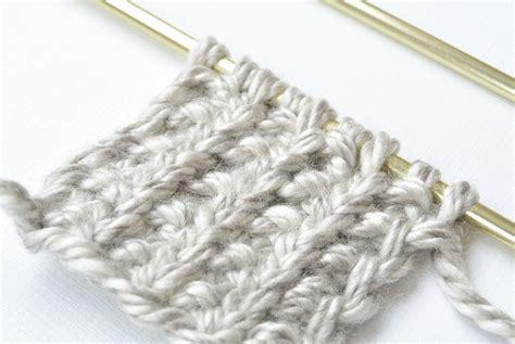 knitting pattern broken rib scarf how to knit the broken rib knit stitch i like knitting