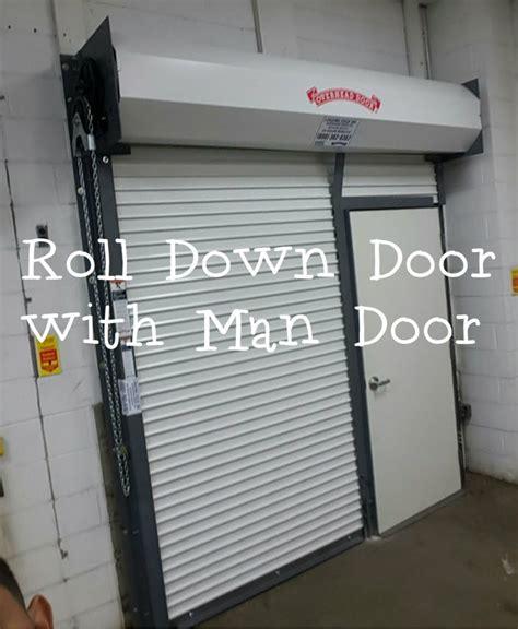 roll door with door
