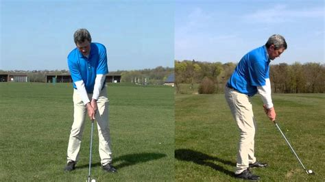 learning golf swing converting to a same plane golf swing free tips easier