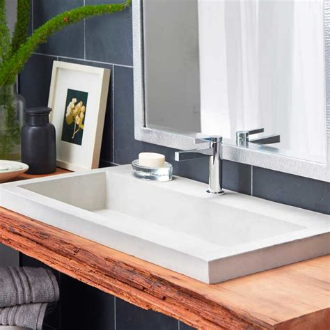 undermount trough bathroom sink undermount trough bathroom sink 28 images vov848u 48