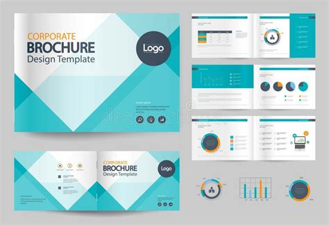 gulf design concept company profile business brochure design template and page layout for