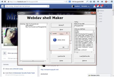 tutorial hack wa tutorial deface dengan webdav hacking